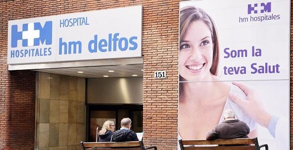 hospital barcelona hm delfos